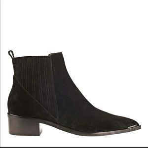 Marc Fisher LTD Yommi Chelsea Suede Ankle Boots
